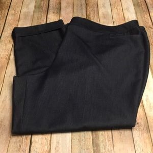 Size 26 Lane Bryant Career Cropped Trousers